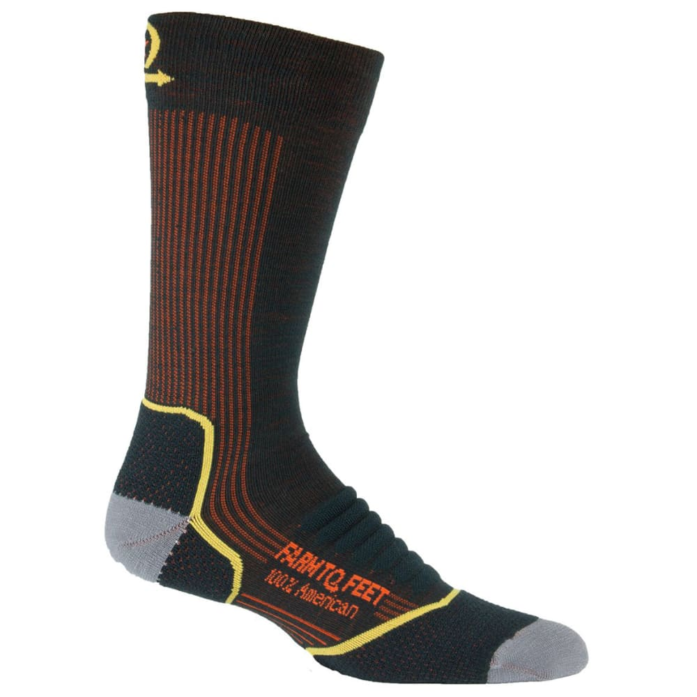 FARM TO FEET Men's Damascus Midweight Crew Socks L