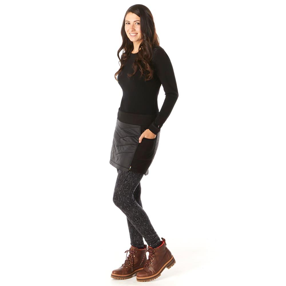 SMARTWOOL Women's Smartloft 60 Skirt - 001 BLACK