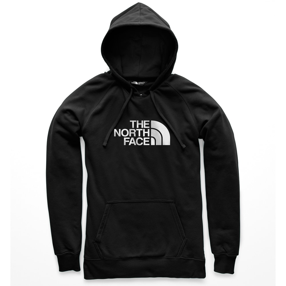 THE NORTH FACE Women's Half Dome Pullover Hoodie - KY4 TNF BLACK TNF WT