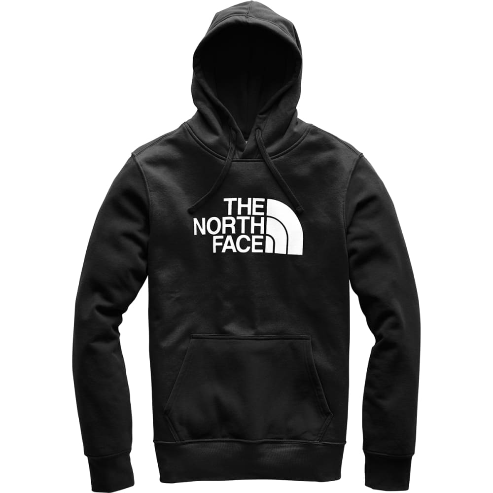 THE NORTH FACE Men's Half Dome Pullover Hoodie - KY4 TNF BLACK TNF WT