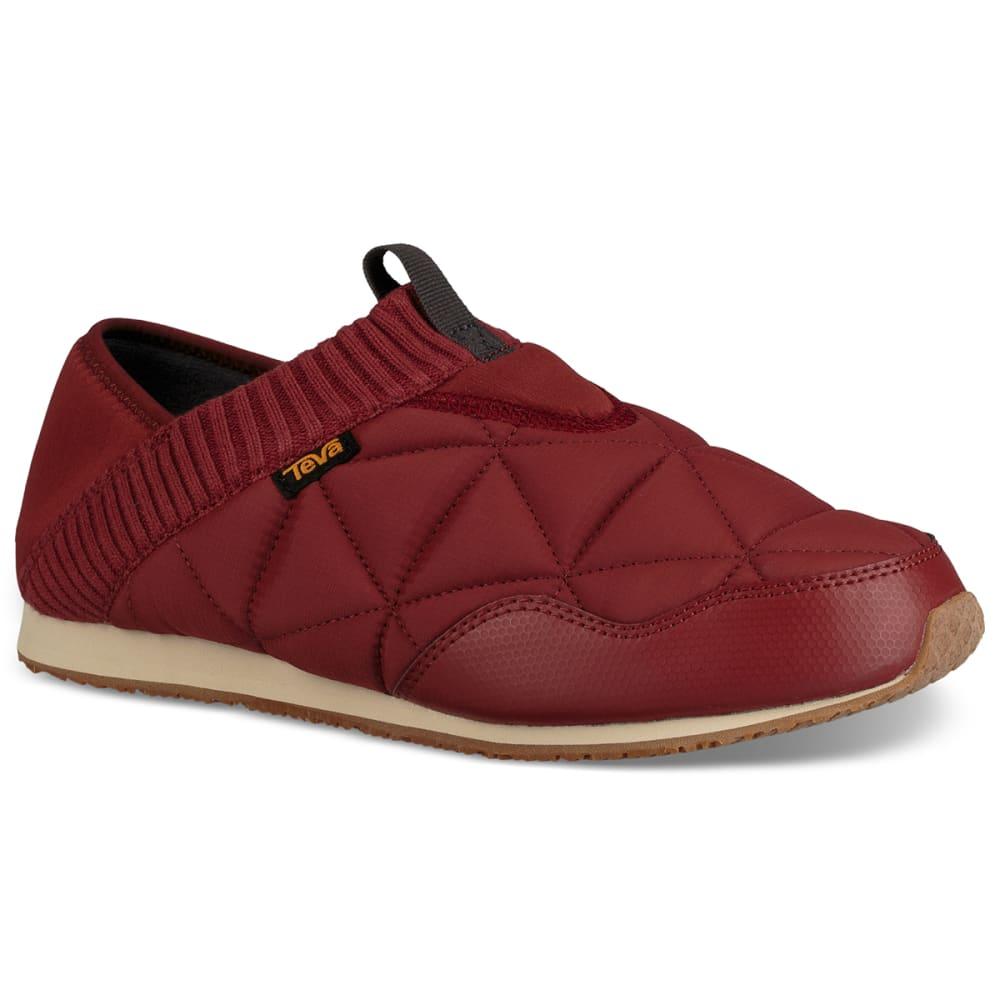 TEVA Men's Ember Moc Travel Shoes - FIRED BRICK-FBRCK
