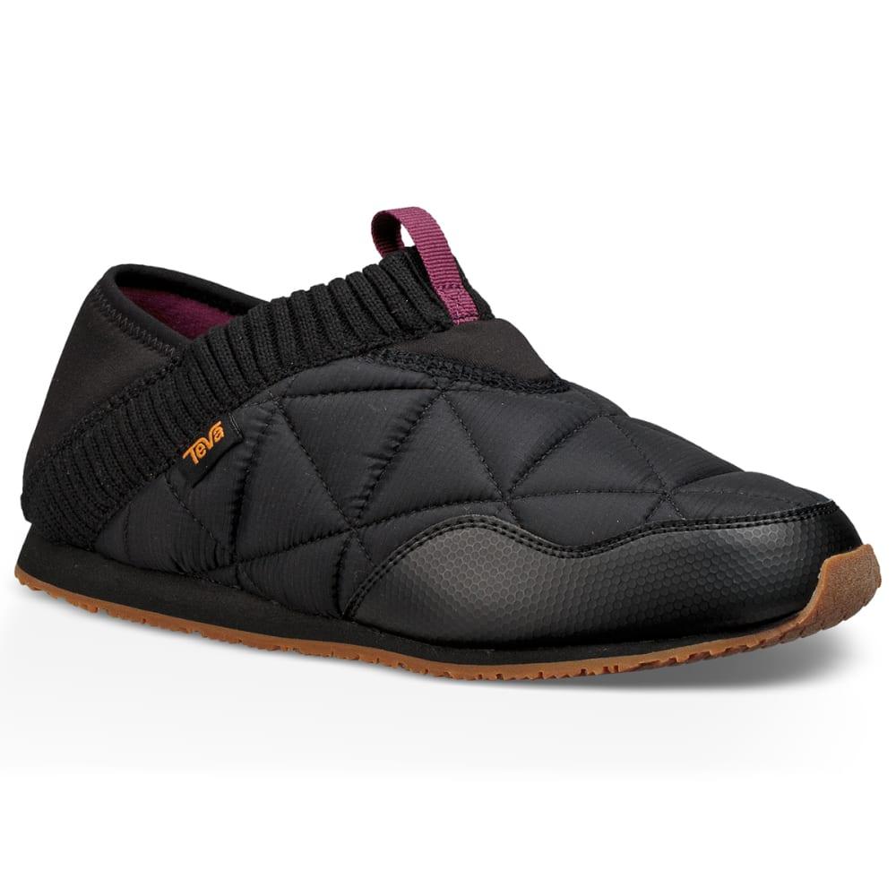 TEVA Women's Ember Moc Travel Shoes - BLACK-BLK