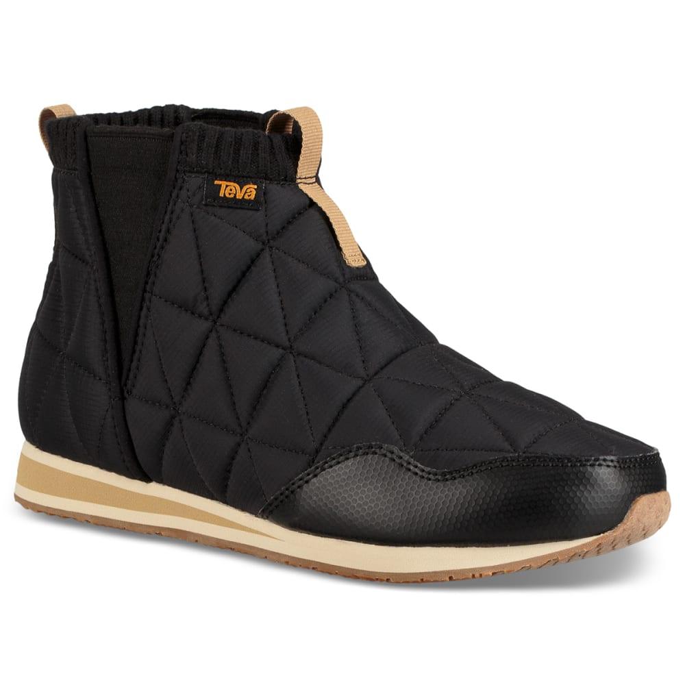 TEVA Women's Ember Mid Moc Shoe - BLACK-BLK