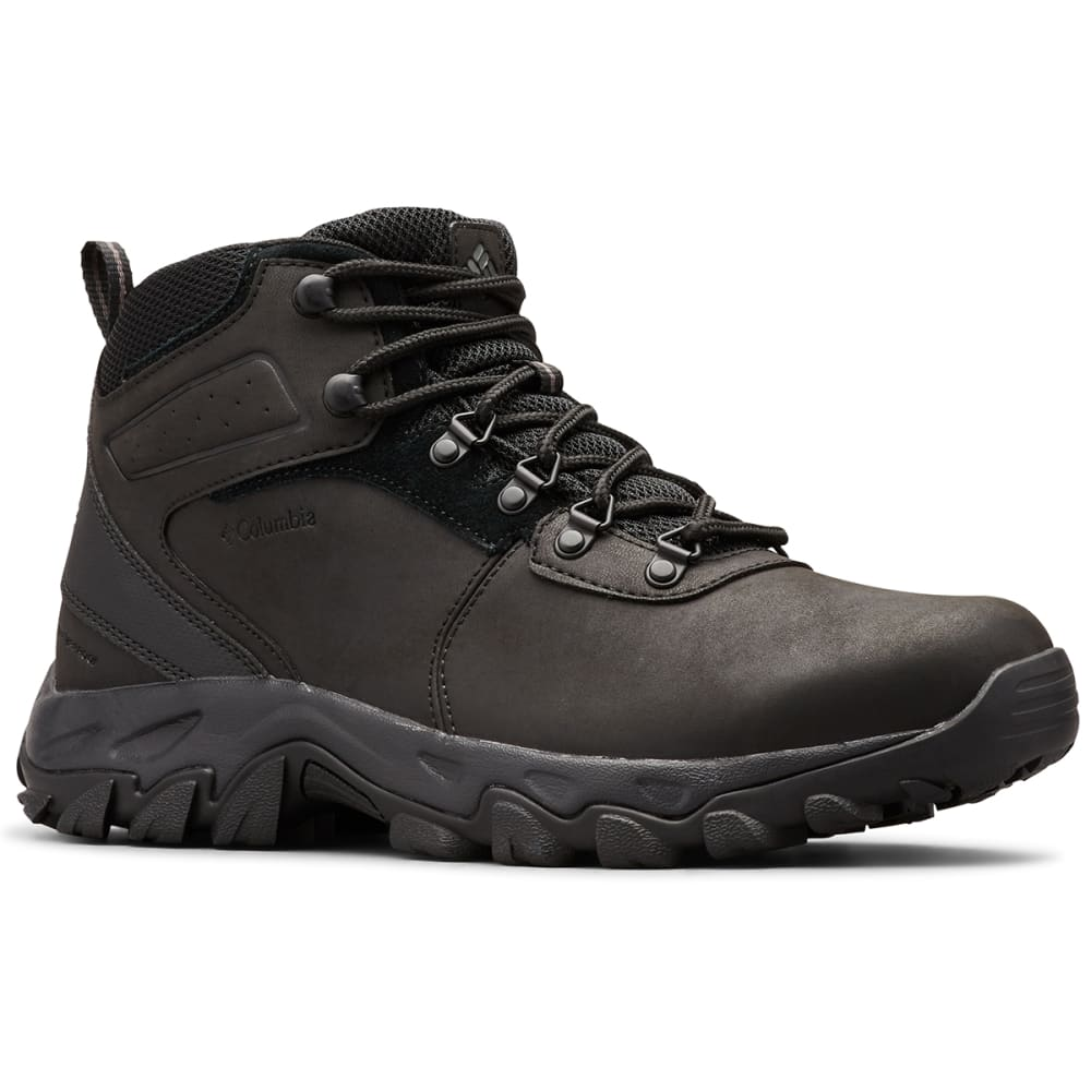 COLUMBIA Men's Newton Ridge Waterproof Hiking Boot - BLACK 011