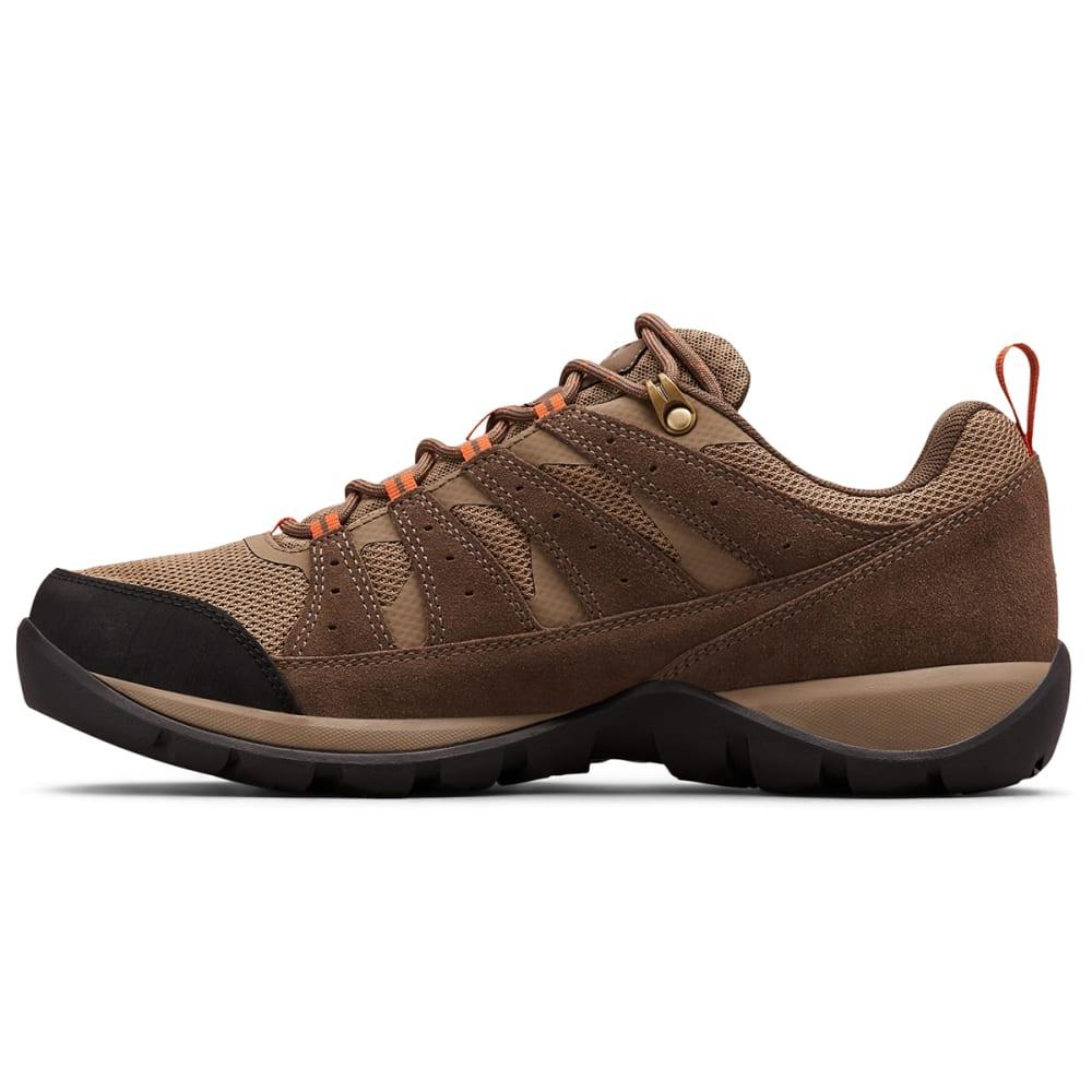 COLUMBIA Men's Redmond V2 Waterproof Hiking Shoes, Wide - PEBBLE/SUN  227