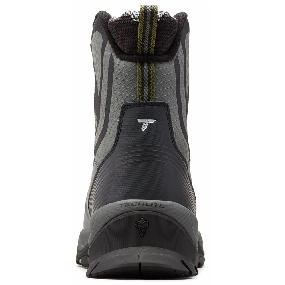 COLUMBIA Men's Powderhouse Titanium Omni-Heat 3D OutDry Boot - BLACK/MOSSTONE 010
