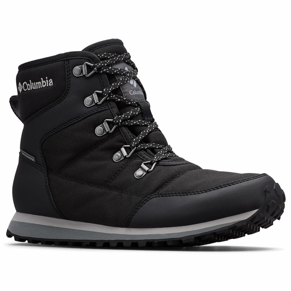COLUMBIA Women's Insulated WP Wheatleigh Shorty Boots - BLACK 010