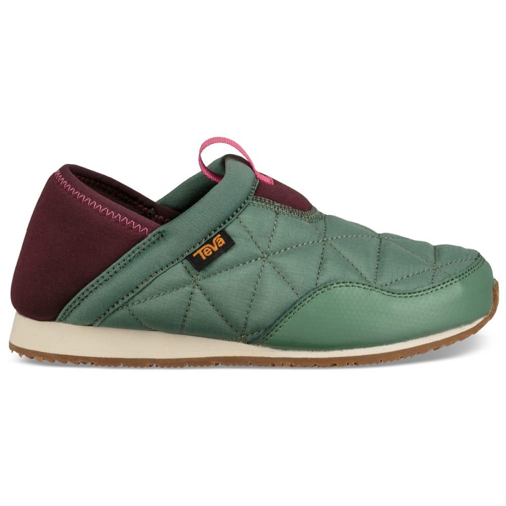 TEVA Girls' Ember Moc Slipper Shoes - HELIX GRN-HGN