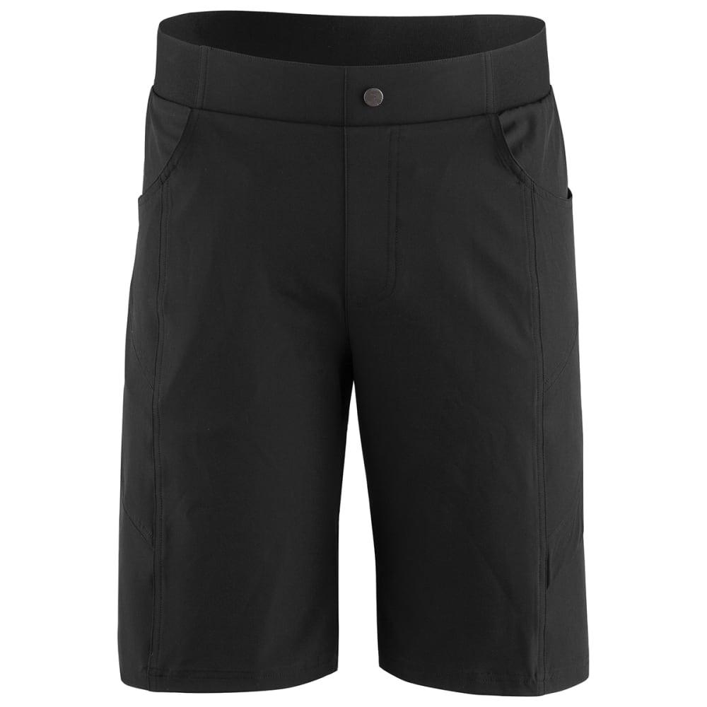 LOUIS GARNEAU Men's Range 2 Cycling Shorts - BLACK