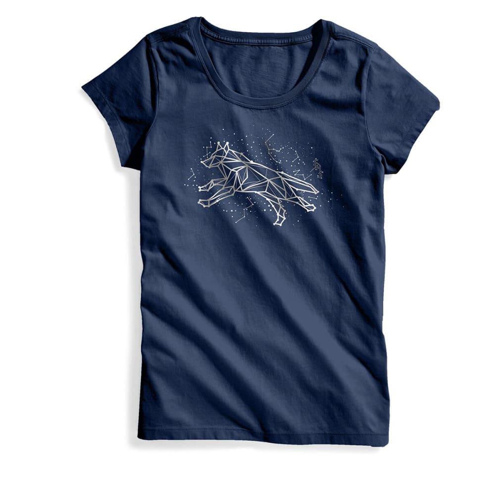 EMS Women's Fox Constellation Short-Sleeve Graphic Tee - POSEIDON