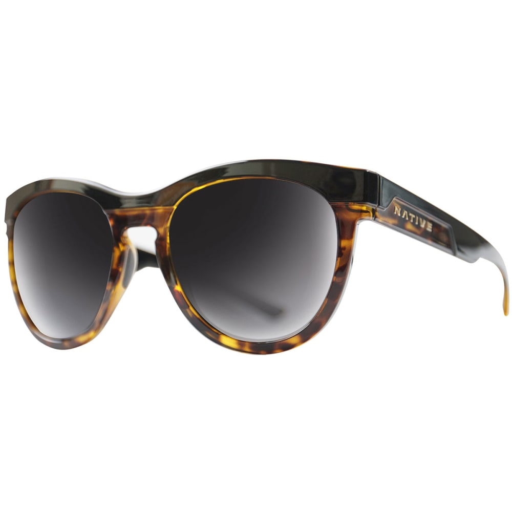 NATIVE EYEWEAR La Reina Sunglasses - BLACK TORT/GREY
