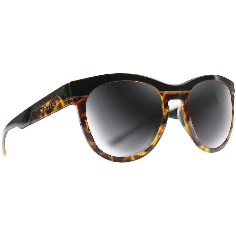 NATIVE EYEWEAR La Reina Sunglasses - BLACK TORT/GREY