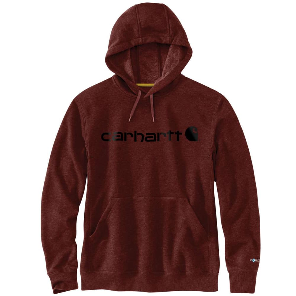 CARHARTT Men's Delmont Signature Graphic Hoooded Sweatshirt XXL