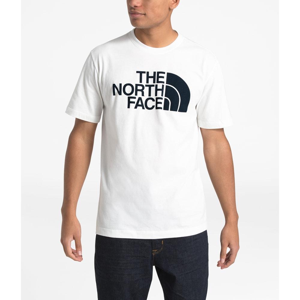 THE NORTH FACE Men's Half Dome Short-Sleeve Graphic Tee - LA9 TNF WHITE/BLACK