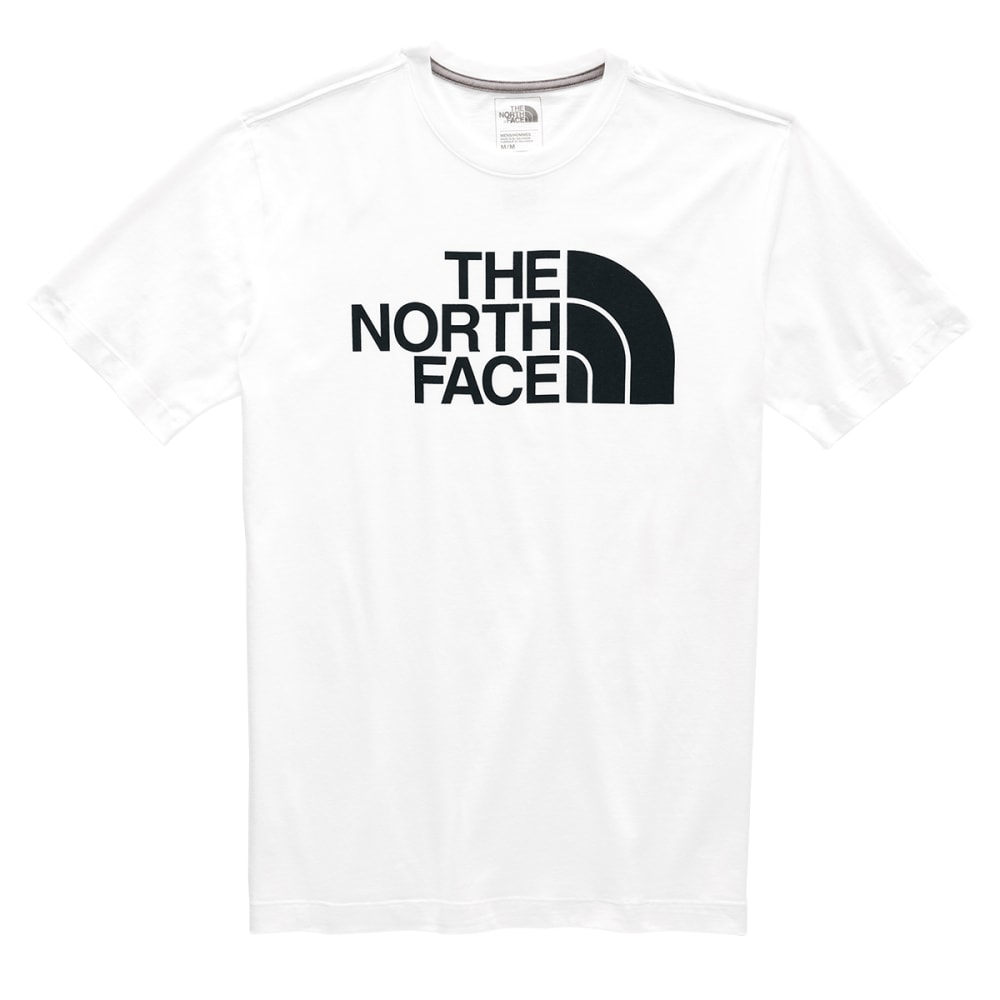 THE NORTH FACE Men's Half Dome Short-Sleeve Graphic Tee - LA9 TNF WHITE/BLACK