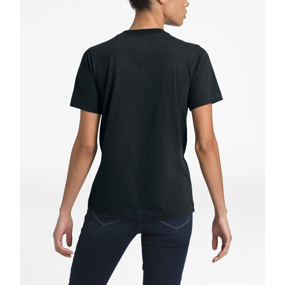 THE NORTH FACE Women's Short-Sleeve Half Dome Tee - TNF BLACK -KY4