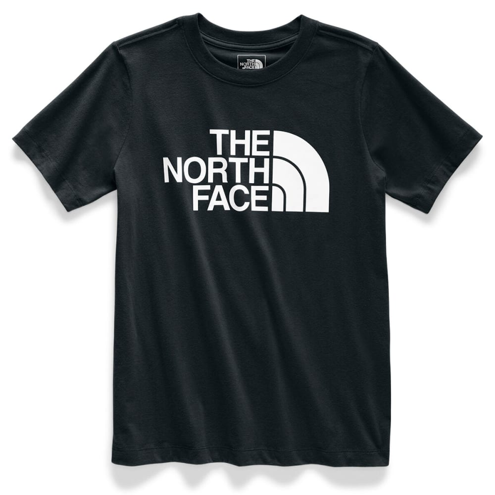 THE NORTH FACE Women's Short-Sleeve Half Dome Tee - TNF BLACK -KY4