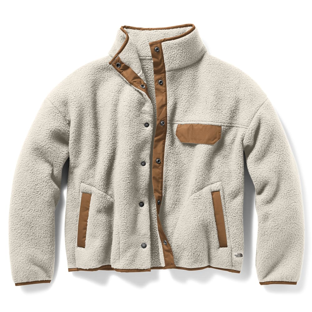THE NORTH FACE Women's Cragmont Fleece Jacket - VINT WHITE G5C