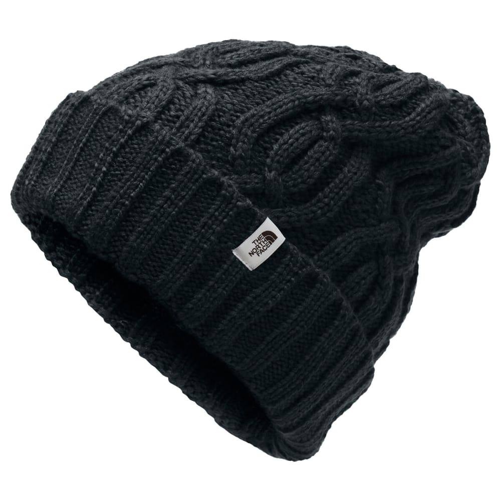 THE NORTH FACE Women's Cable Minna Beanie - JK3 TNF BLACK