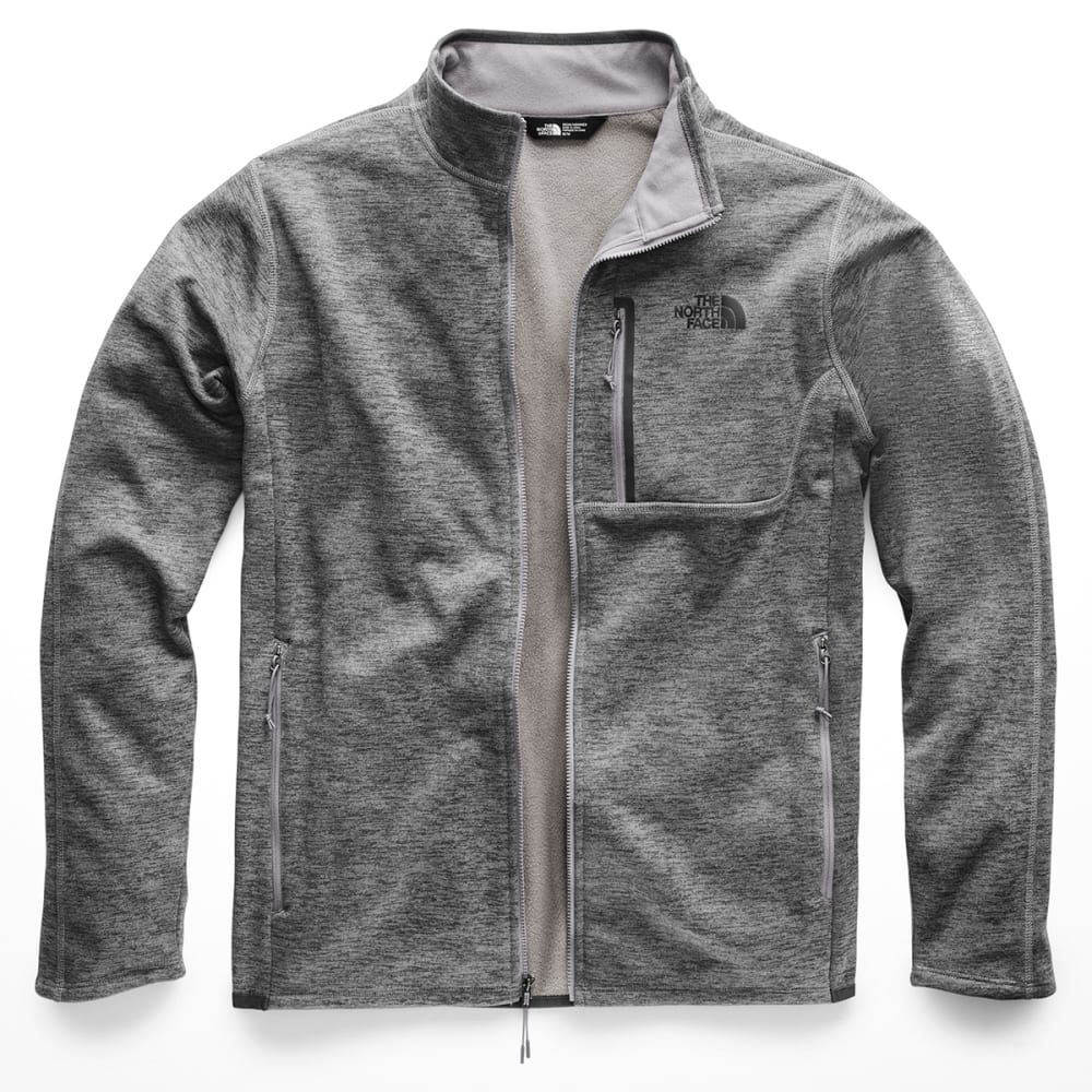 THE NORTH FACE Men's Canyonland Full-Zip Jacket - DYY TNF MED GREY HTR