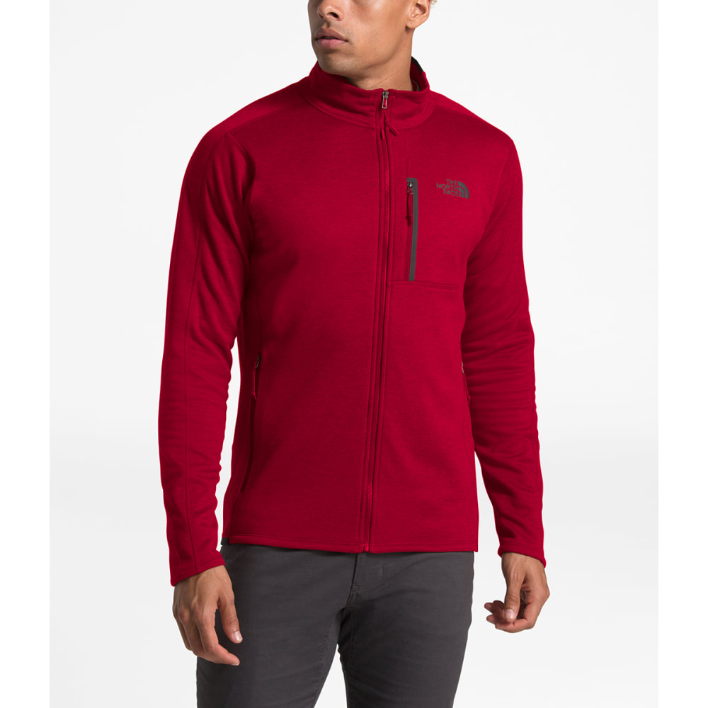 THE NORTH FACE Men's Canyonland Full-Zip Jacket - HJK CARDIANL RED HTR