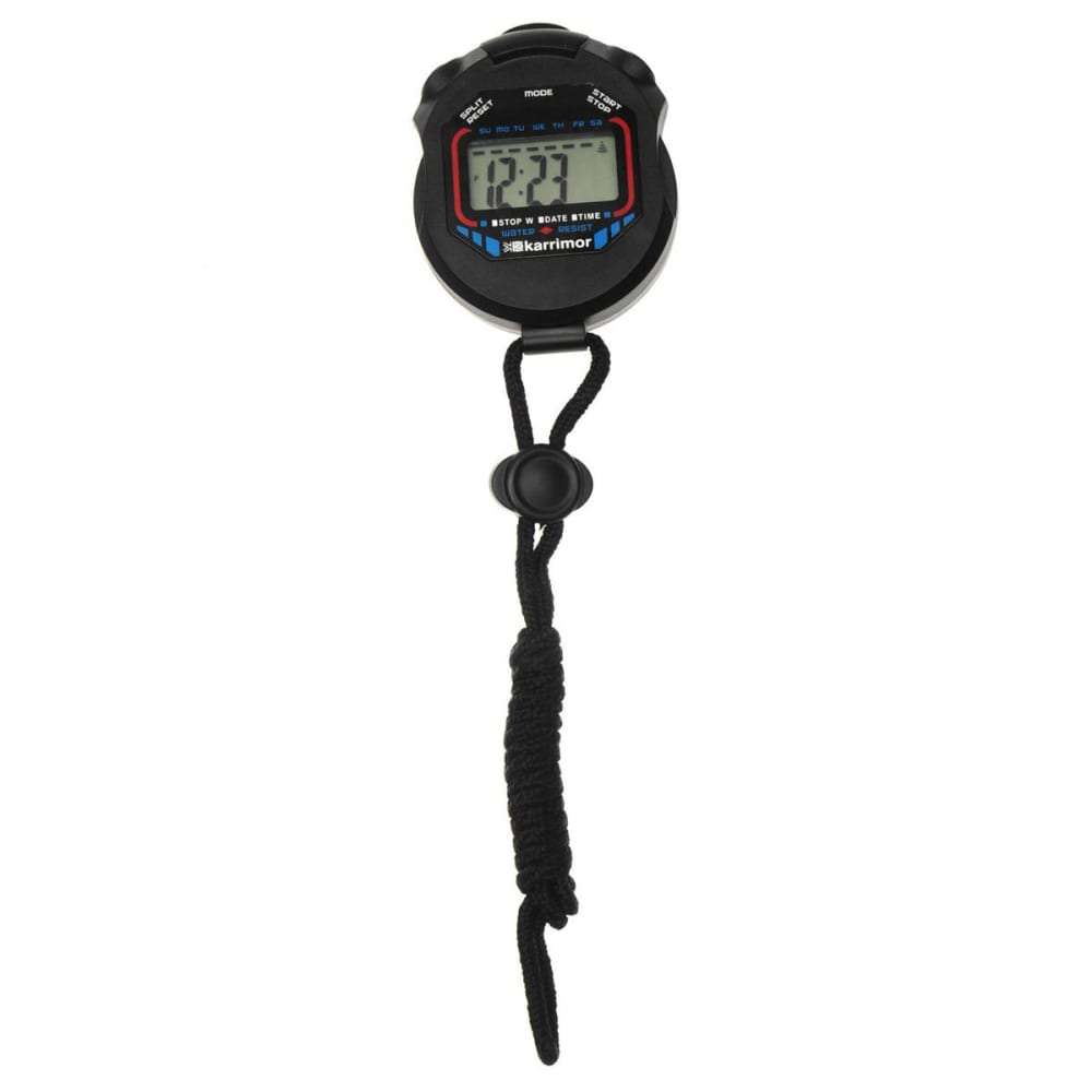KARRIMOR Run Stopwatch - BLACK