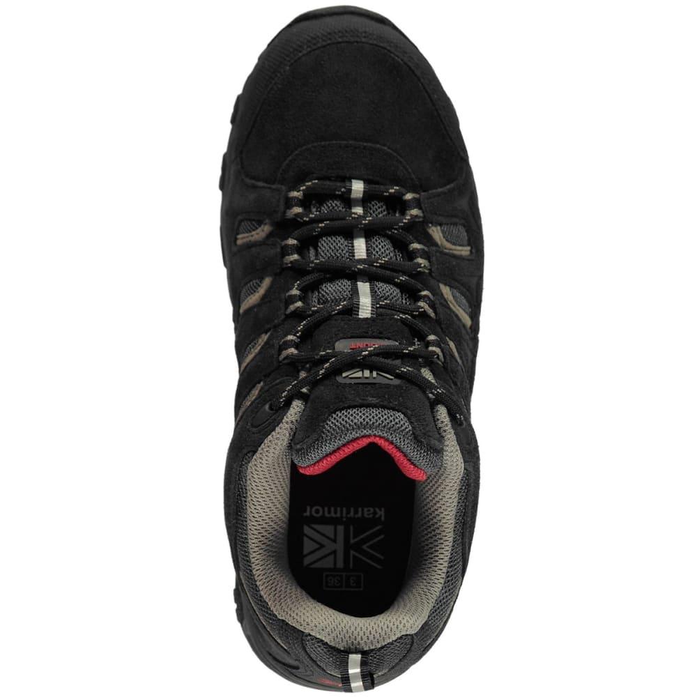 KARRIMOR Kids' Mount Low Walking Shoes - BLACK/RED