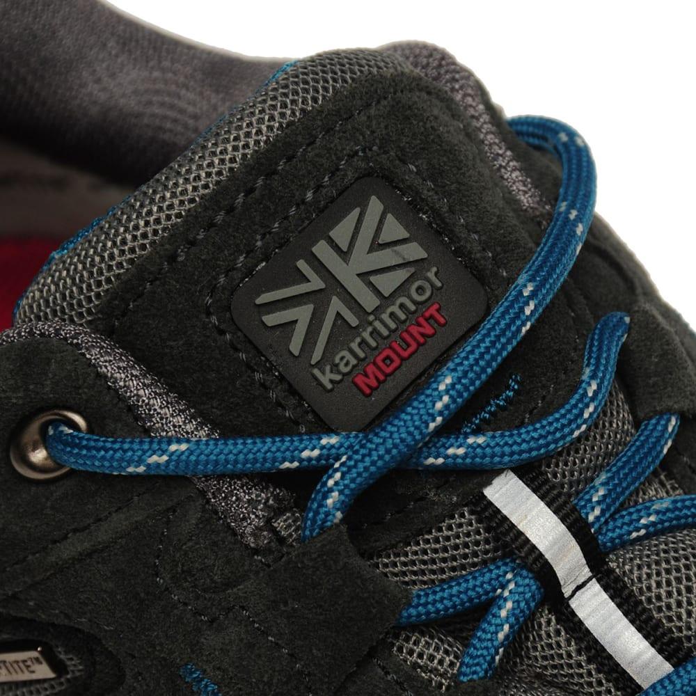 KARRIMOR Kids' Mount Low Walking Shoes - GREY/TEAL