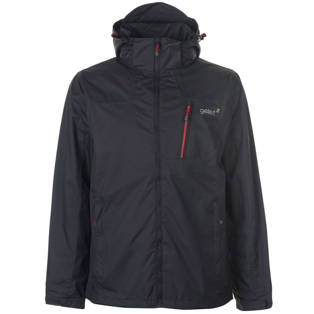 GELERT Men's Horizon Jacket - Char/Gelert Red