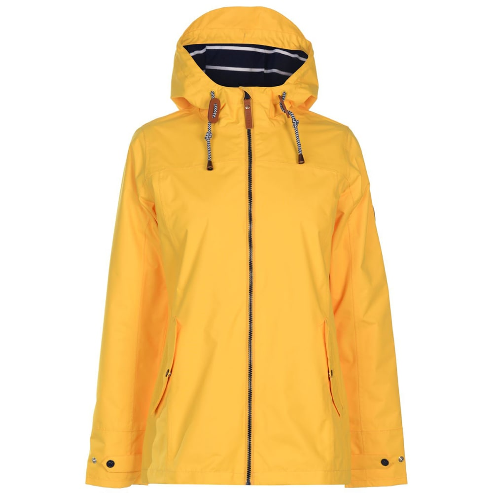GELERT Women's Coast Waterproof Jackets - Gelert Yellow