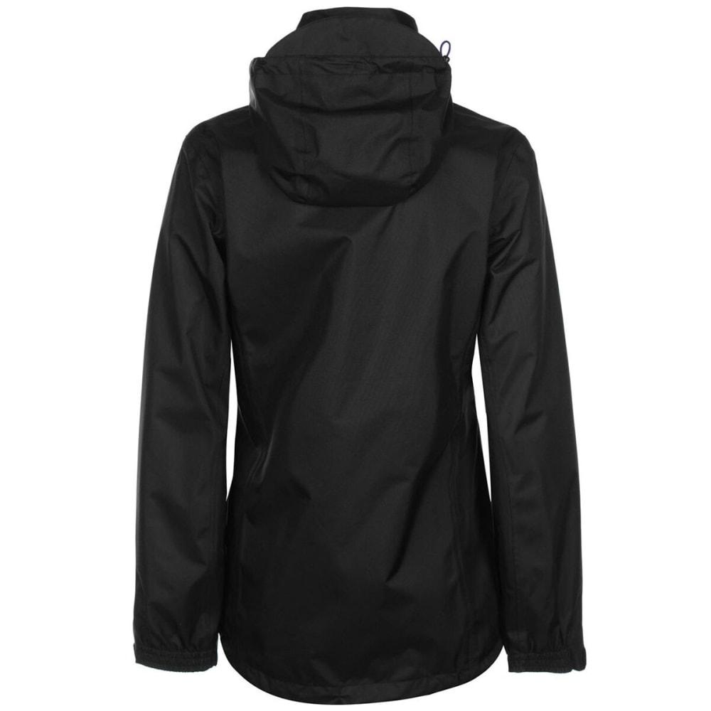 GELERT Women's Horizon Waterproof Jacket - Blk/Gelert Purp