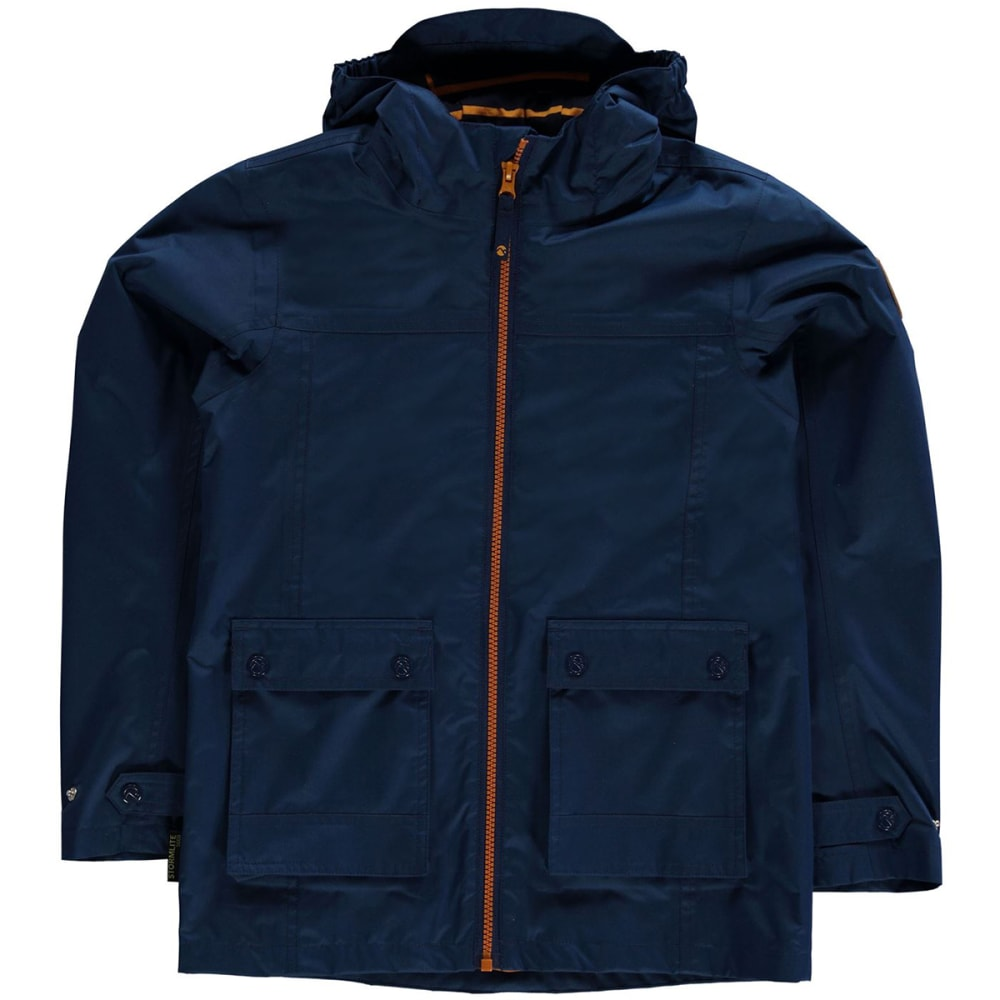 GELERT Kids' Coast Waterproof Jacket - Gelert Nvy/Oran