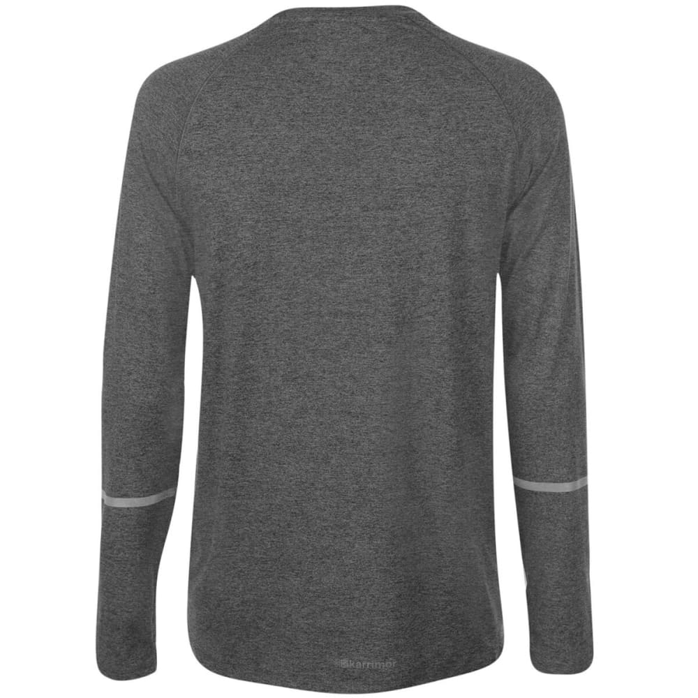 KARRIMOR Men's XLite Long-Sleeve Tee - Light Grey Marl