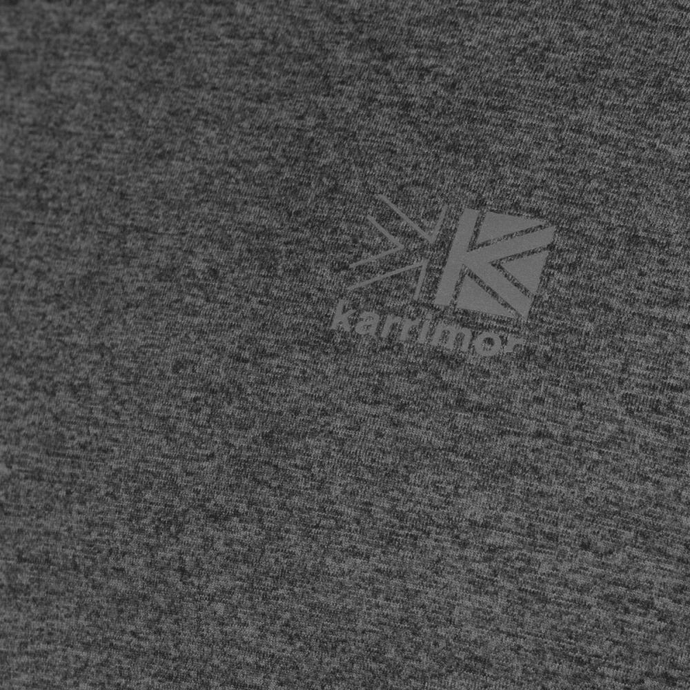 KARRIMOR Men's XLite Long-Sleeve Tee - Light Grey Marl