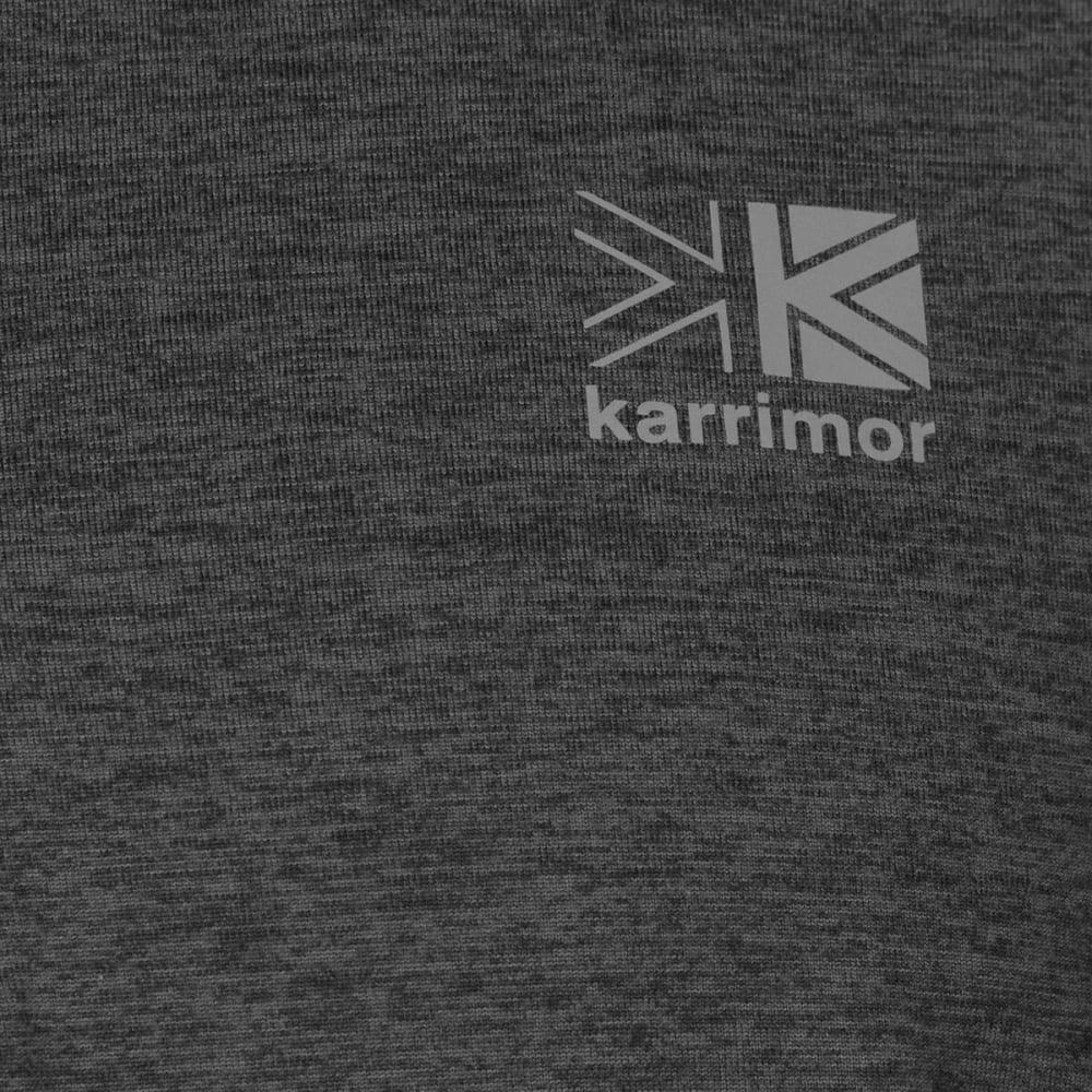 KARRIMOR Men's X Lite Long-Sleeve Running Top - Dark Grey Marl