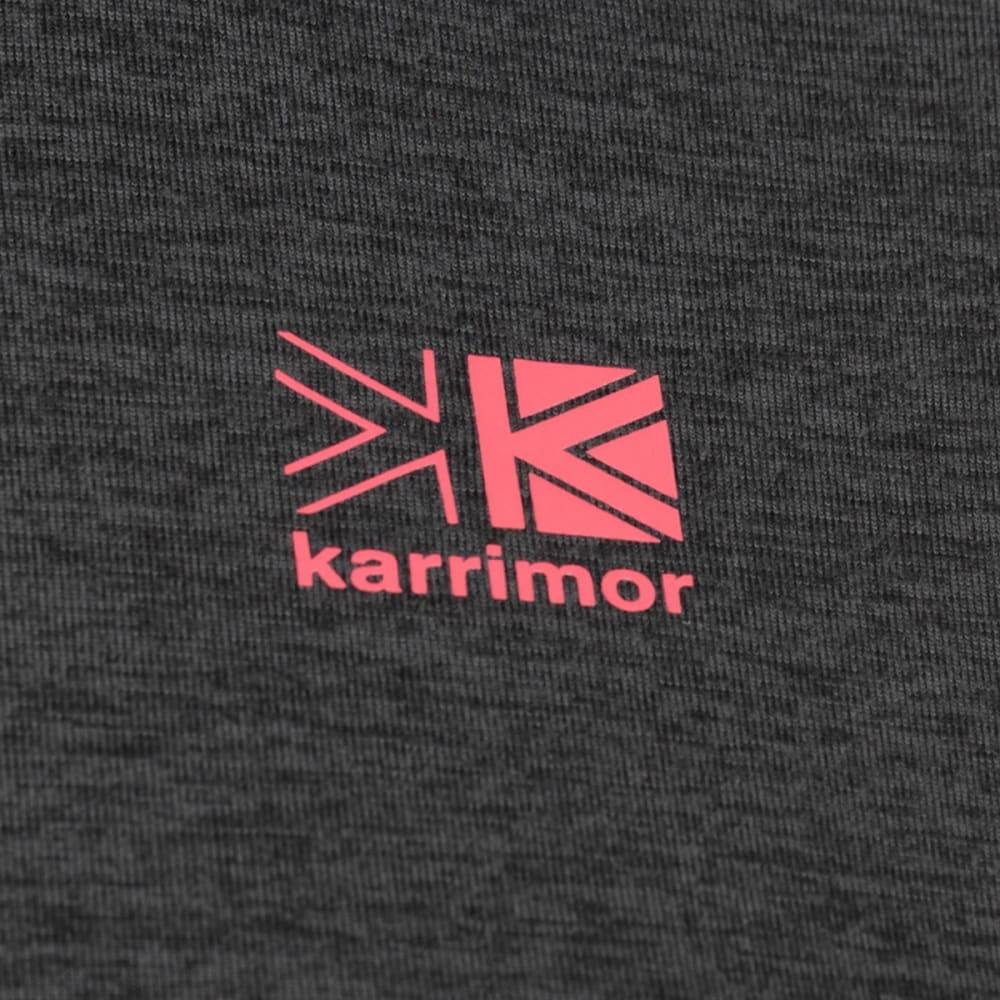 KARRIMOR Women's XLite Long-Sleeve Zip Top - Dark Grey Marl