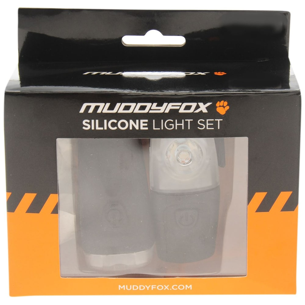 MUDDYFOX Rechargeable Silicone Light Set - BLACK