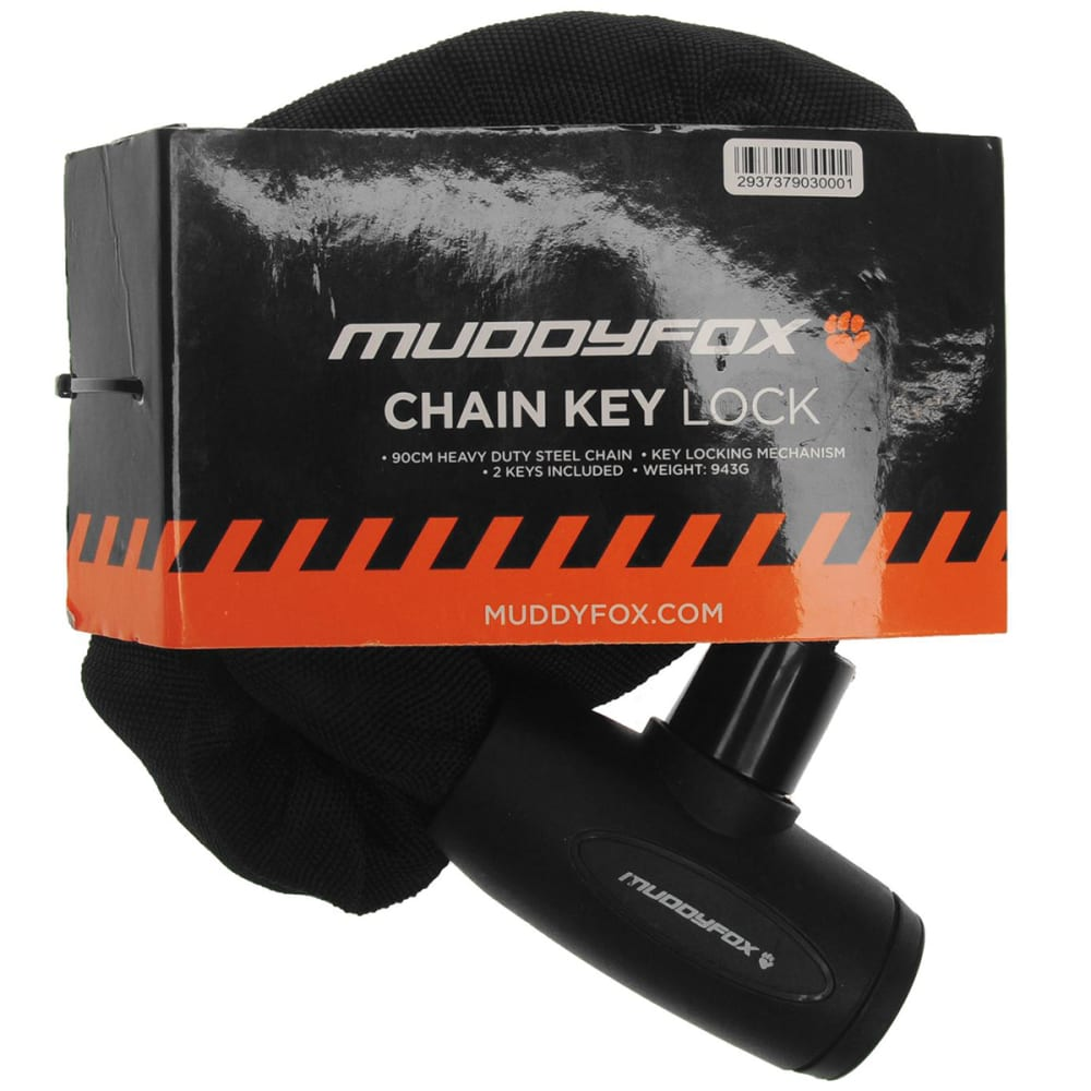 MUDDY FOX Chain Key Lock - BLACK