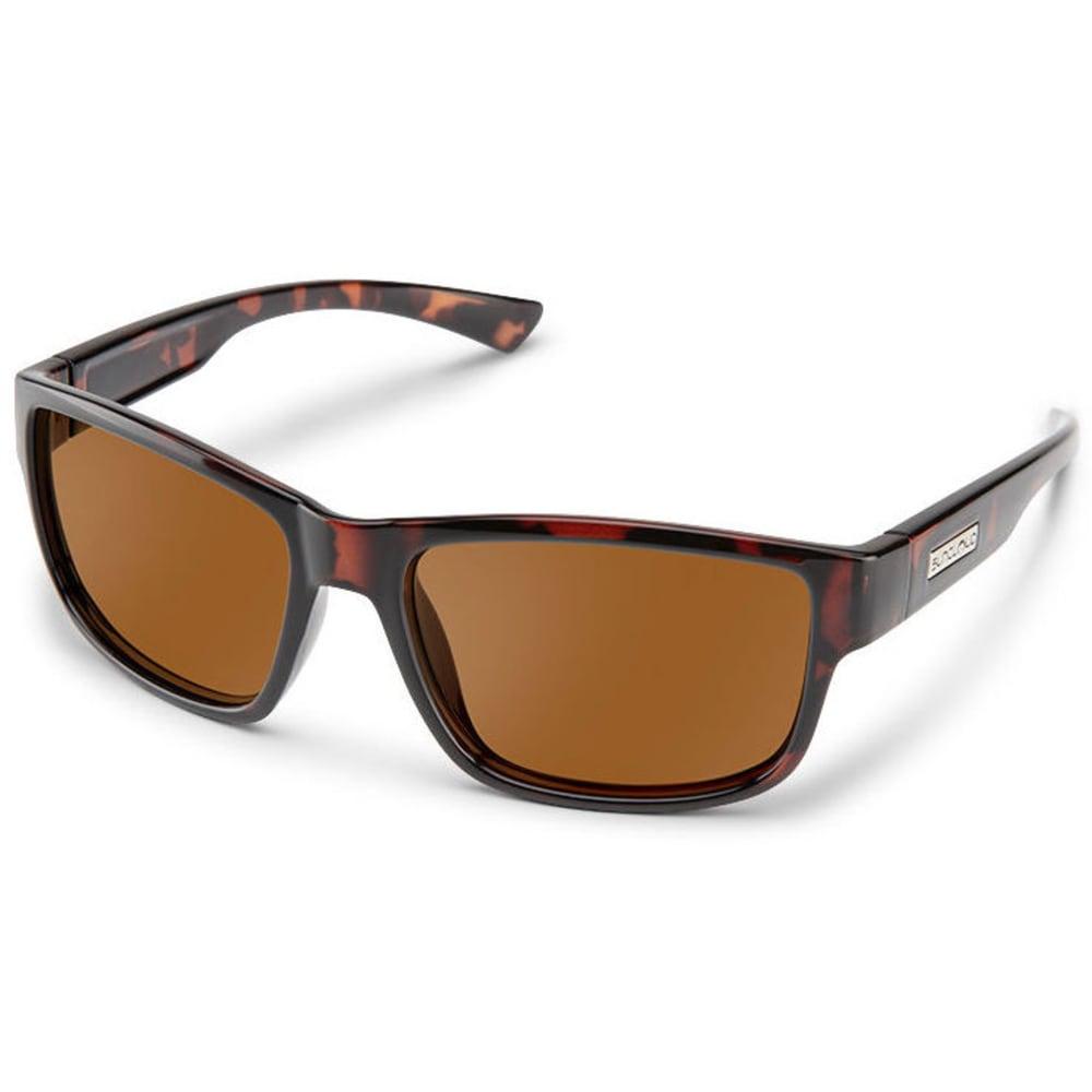 SUNCLOUD Optics Suspect Sunglasses - HAVANA/POLARZED BRWN