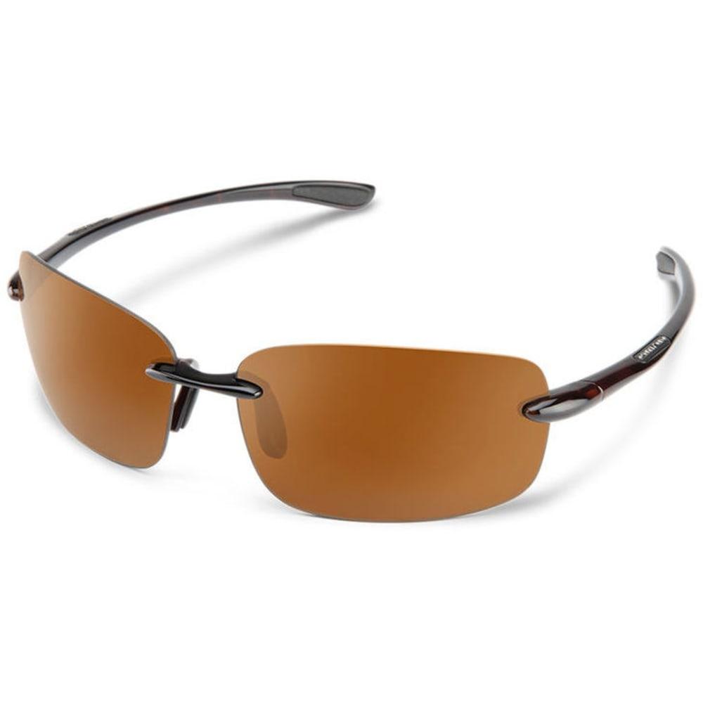 SUNCLOUD Topline Optics Suspect Sunglasses - HAVANA/POLARZED BRWN