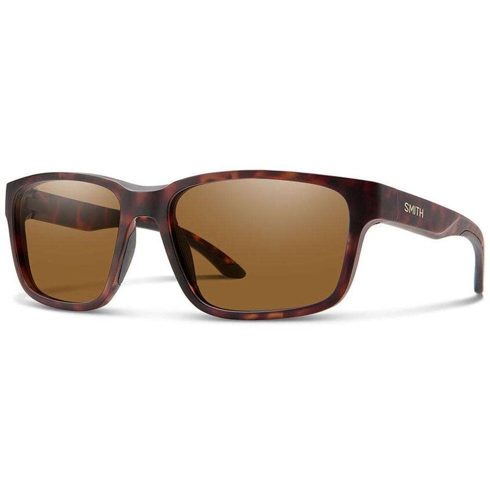 SMITH OPTICS Men's Basecamp Polarized Sunglasses - MATTE TORT/BROWN