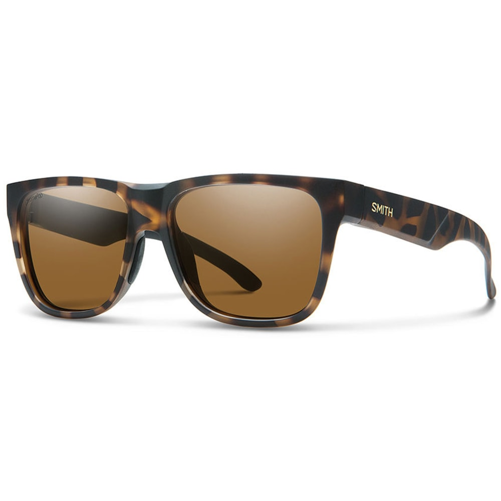 SMITH Lowdown 2 Chromapop Polarized Sunglasses - MATTE TORT/BROWN