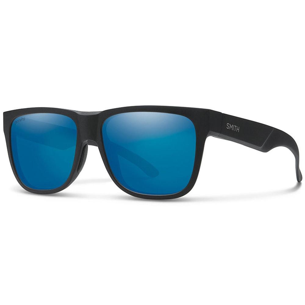 SMITH Lowdown 2 Chromapop Polarized Sunglasses - MATTE BLK/BLUE MIROR