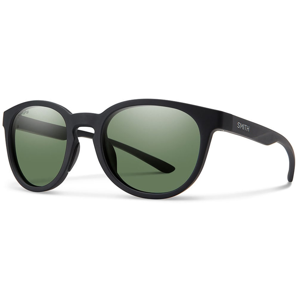 SMITH Eastbank Sunglasses with Polarized Lenses - MATTE BLK/GREY GREEN