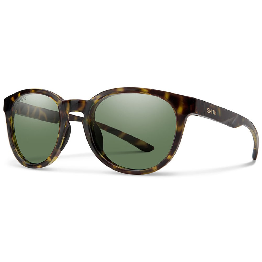 SMITH Eastbank Sunglasses with Polarized Lenses - VINTAGE TORT/GRY GRN