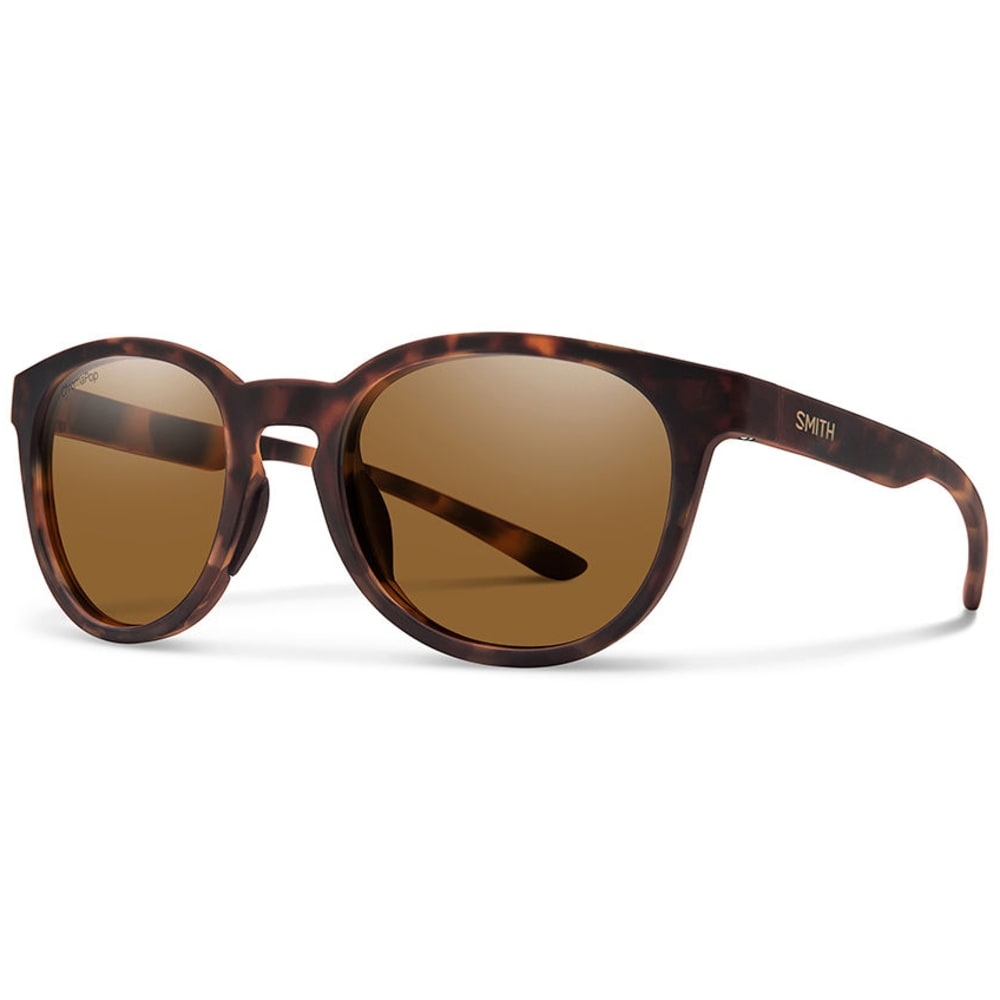 SMITH Eastbank Sunglasses with Polarized Lenses - MATTE TORT/BROWN
