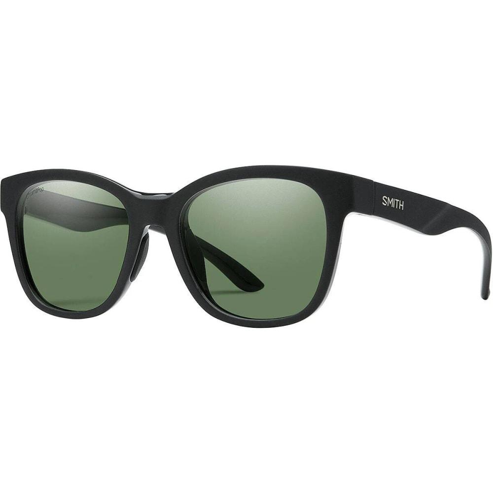 SMITH Caper Polarized Sunglasses - MATTE BLK/GREY GREEN