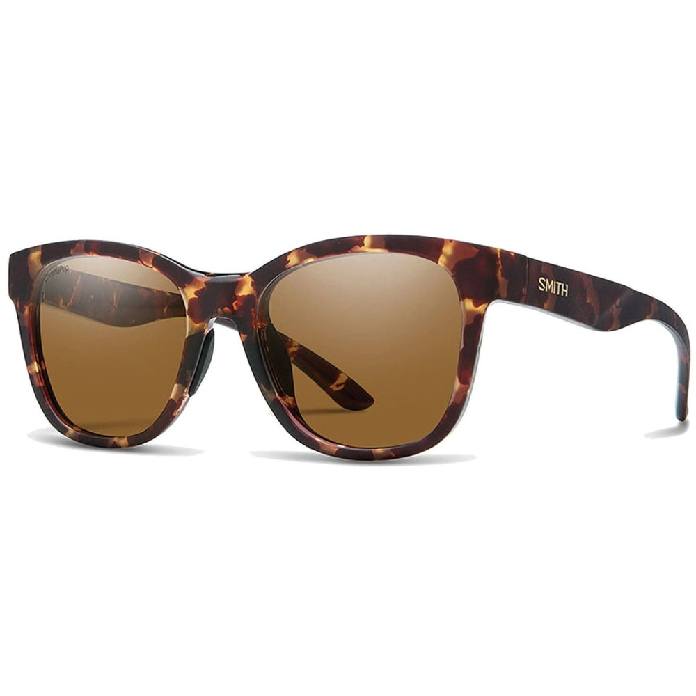 SMITH Caper Polarized Sunglasses - MATTE TORT/BROWN