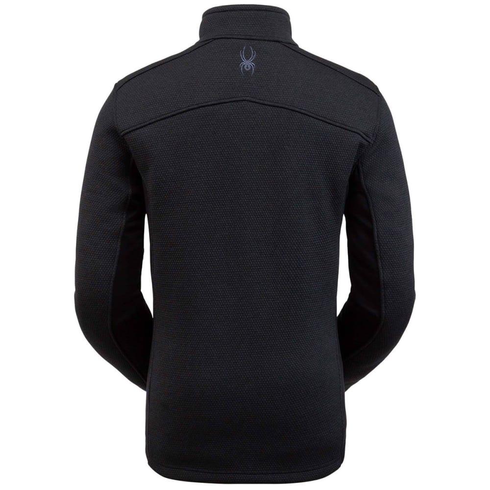 SPYDER Men's Encore 1/2-Zip Fleece Jacket - BLACK 001