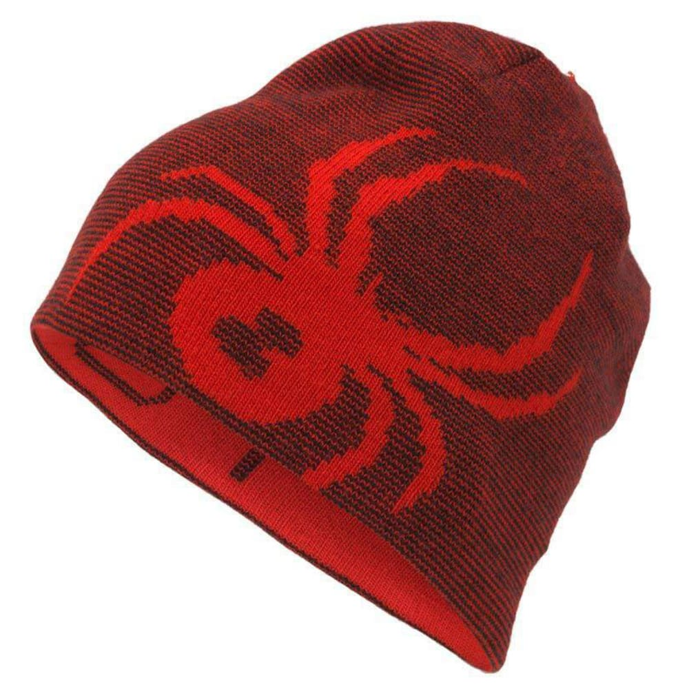 SPYDER Men's  Reversible Innsbruck Hat - RED BLACK 620VCO